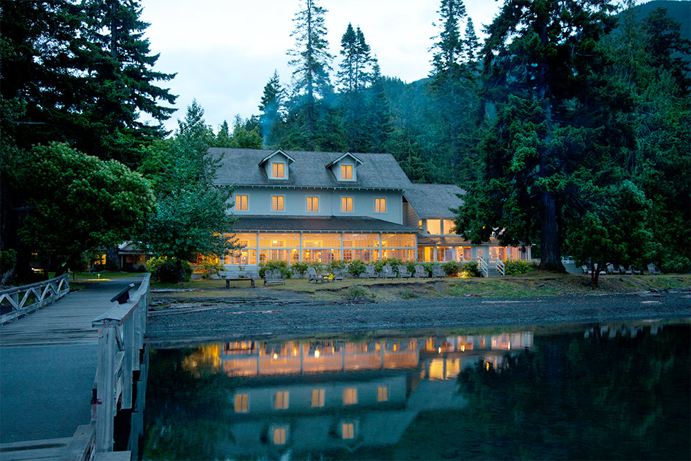 Lake Crescent Lodge - Lake Front