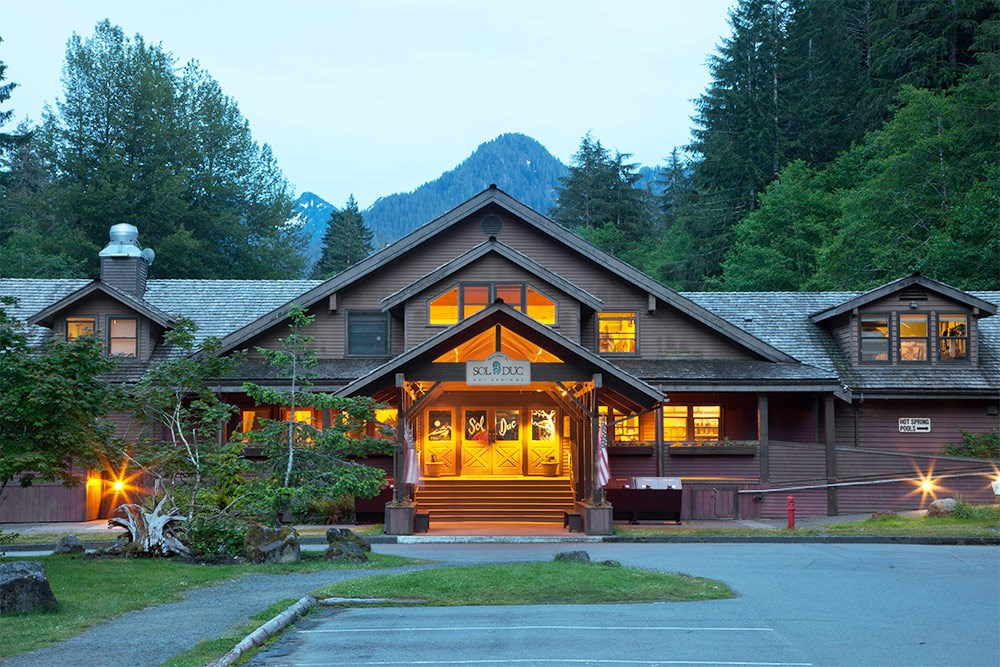 Cabin Rentals at Sol Duc Hot Springs Resort | Olympic National Park &  Forest WA