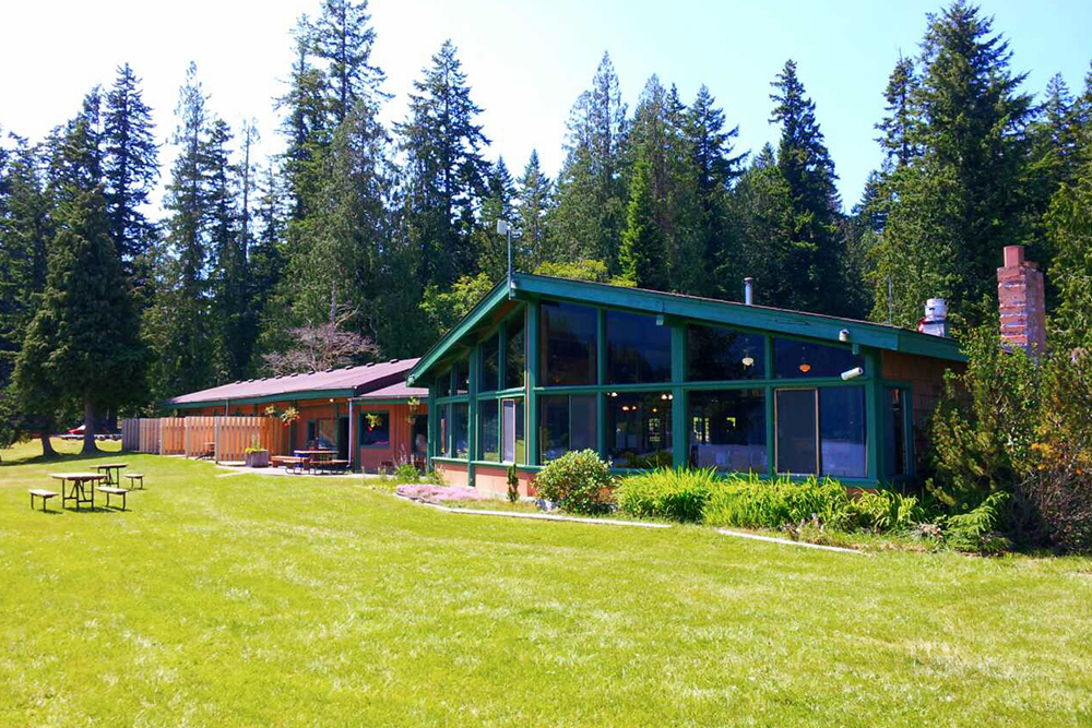 Log Cabin Main Lodge