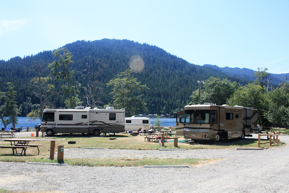 Rv campground experience olympic national park for Cabin rentals olympic national forest
