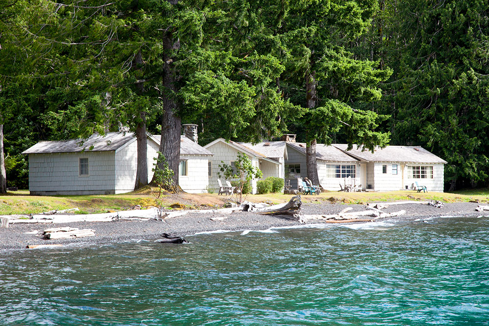 Accommodations At Lake Crescent Lodge Olympic National
