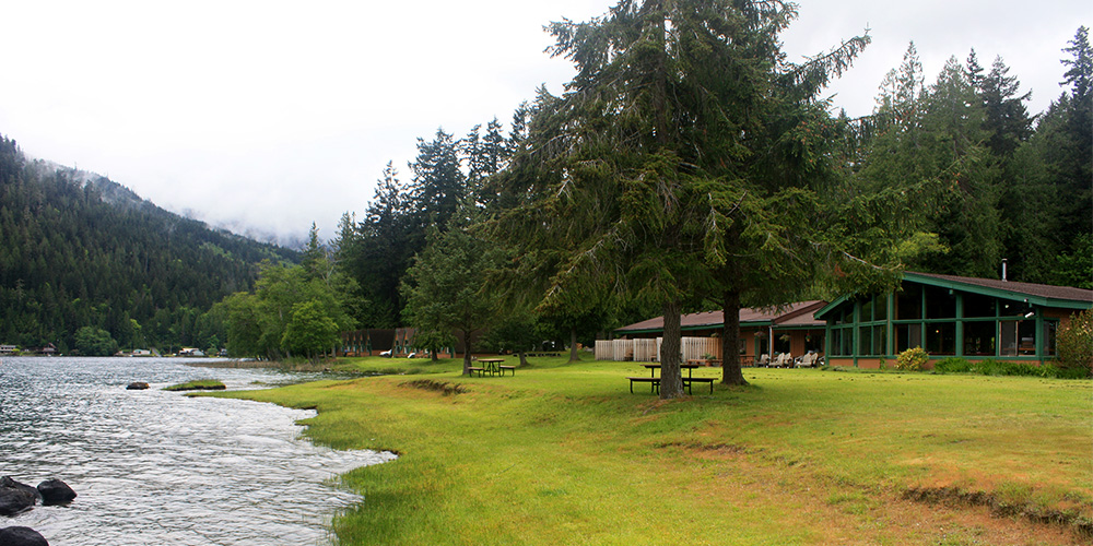 Olympic lodging experience olympic national park for Cabin rentals olympic national forest