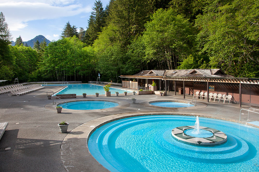 Special Spring Rate Sol Duc Hot Springs Resort Olympic National Park Forest Wa