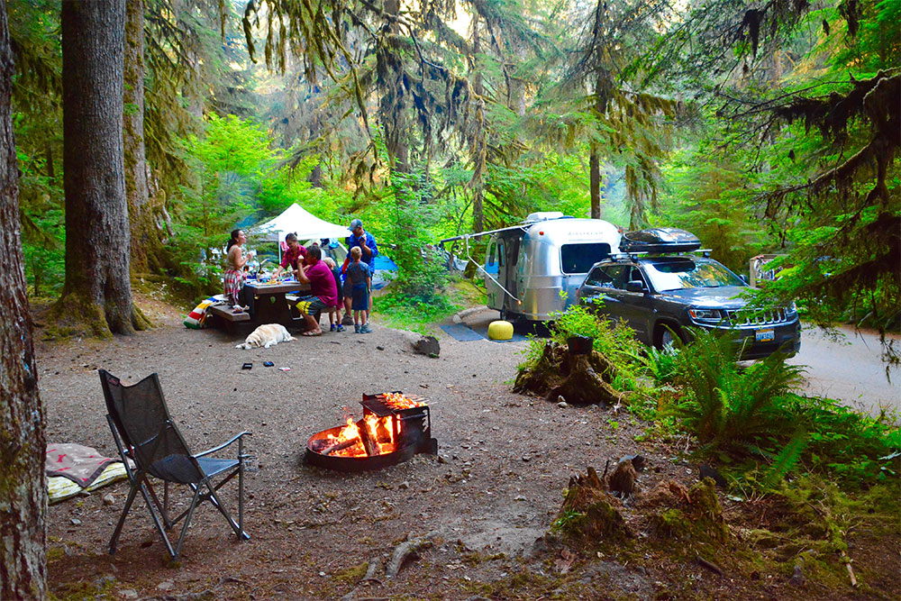 Rv Amp Campground Experience Olympic National Park