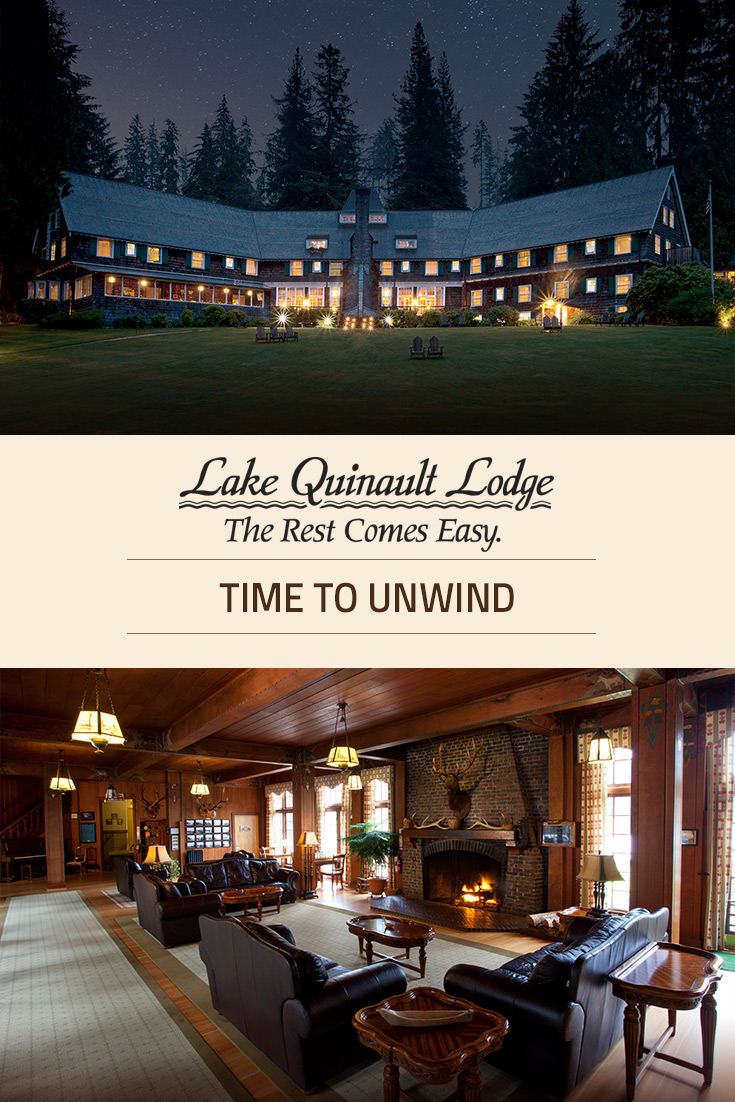 Accommodations At Lake Quinault Lodge Olympic National Park Forest Wa
