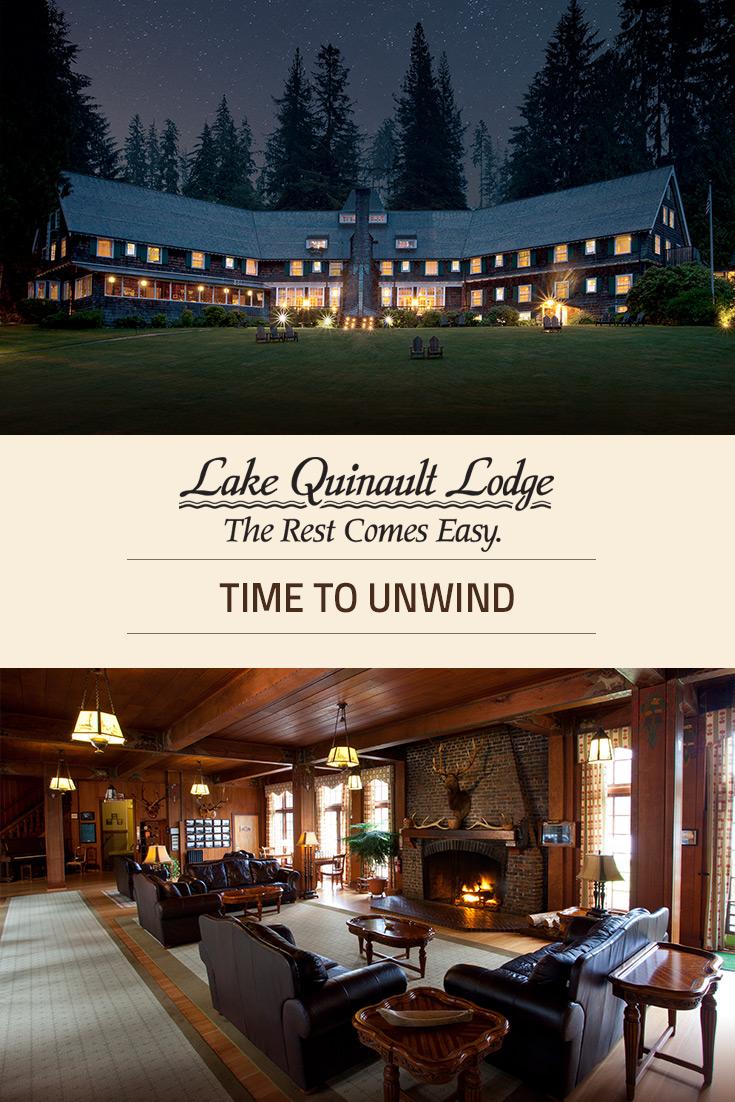 The Lodge At Bryce Canyon Dining Room: Accommodations At Lake Quinault Lodge