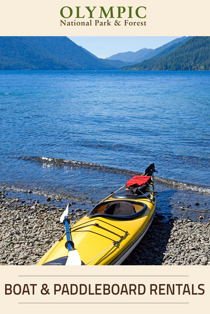 Boat paddleboard rentals olympic national park for Cabin rentals olympic national forest