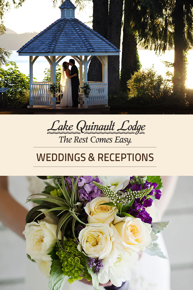 Lake Quinault Lodge Weddings Olympic National Park Forest Ula Wa