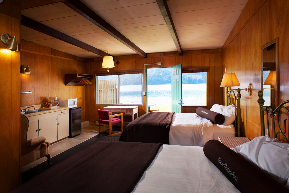 Log Cabin Lodge Room