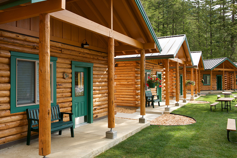 Renovated Log Cabins