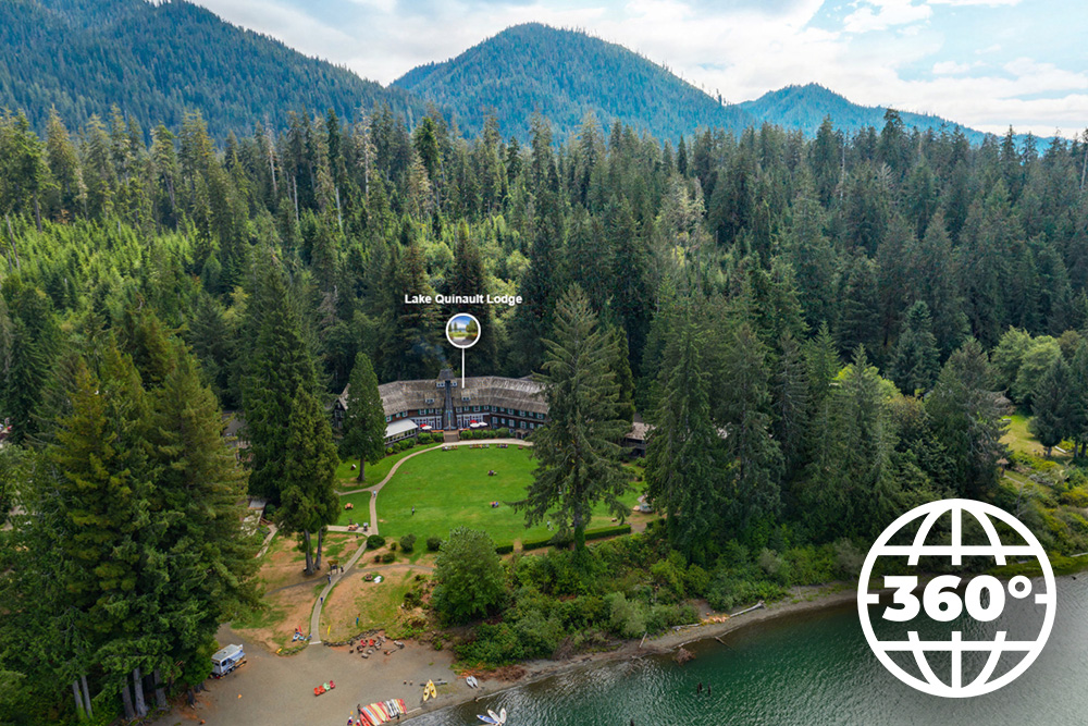 Lake Quinault Lodge Virtual Property Tour