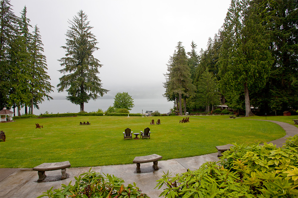 Lake Quinault Lodge Lake View