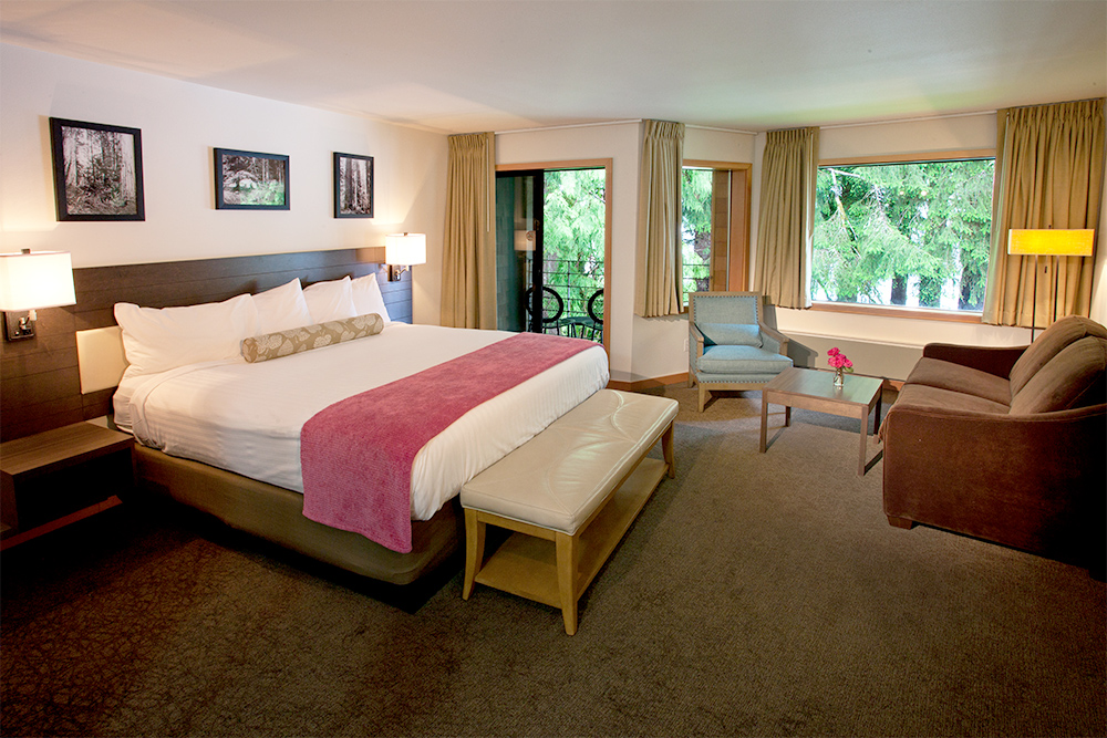 Lake Quinault Lodge Guest Room
